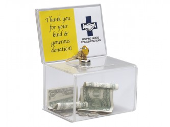 Acrylic Coin Box