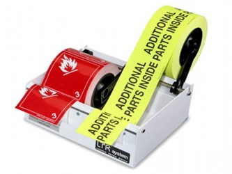 Label and Tape Dispenser
