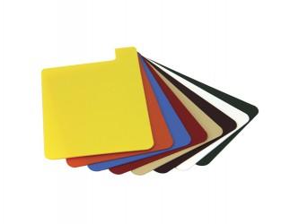 Heavy-Duty Plastic Shelf Markers