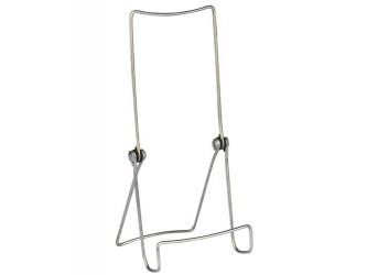 Adjustable Zinc Plated Display Easel - Sharp Front Bend