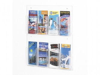 Clear2C Pamphlet Display