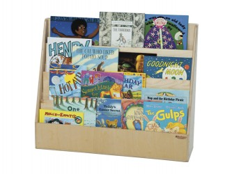 Présentoir en bois pour livres de Wood Designs