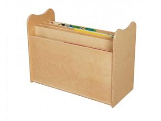 Boîte de rangement pour grands livres de Wood Designs