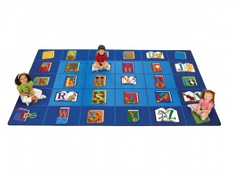"Tapis de lecture pour enfants ""Reading by the book"" de Carpets For Kids"