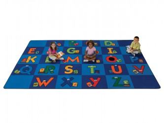 "Tapis de lecture pour enfants ""Reading Letters"" de Carpets For Kids"