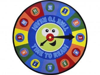 """Tapis circulaire pour enfants """"Time To Read"""" de Joy Carpets"""