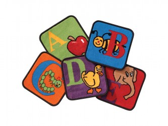 "Ensemble de tapis pour enfants ""Reading By The Book"" de Carpets for Kids"