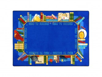 "Tapis de lecture pour enfants ""Read to Succeed"" de Joy Carpets"