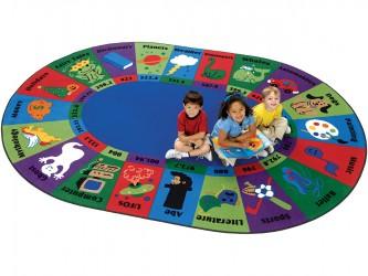 Carpets for Kids Dewey Decimal Reading Carpet