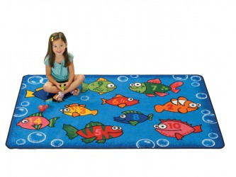 Carpets for Kids KIDS Value Rugs Something Fishy Carpet