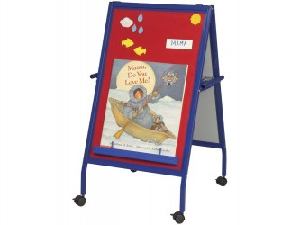 Best-Rite Magnetic Flannel Mobile Easel