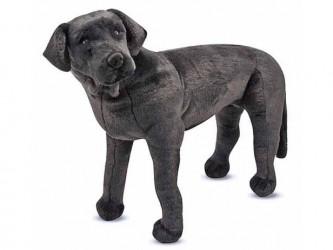 Melissa And Doug Giant Animal Plush - Black Labrador