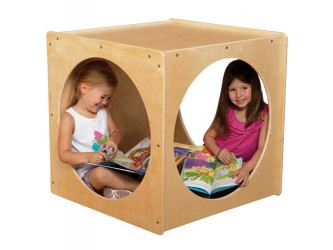 "Coin de lecture ""Imagination Cube"" de Wood Designs"